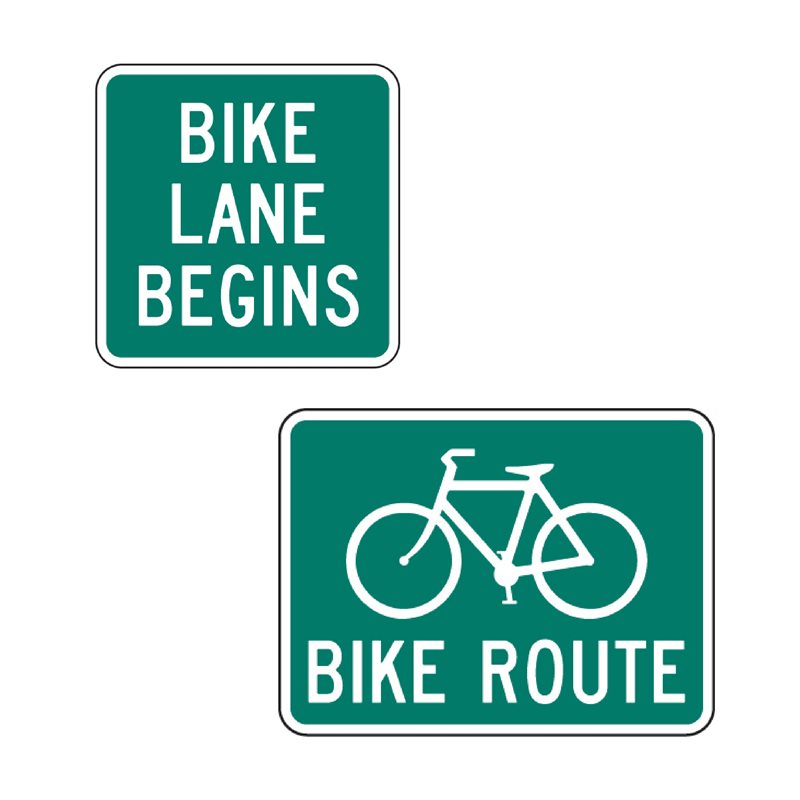 BC Signs - Section 1.3 - Bicycle Signs