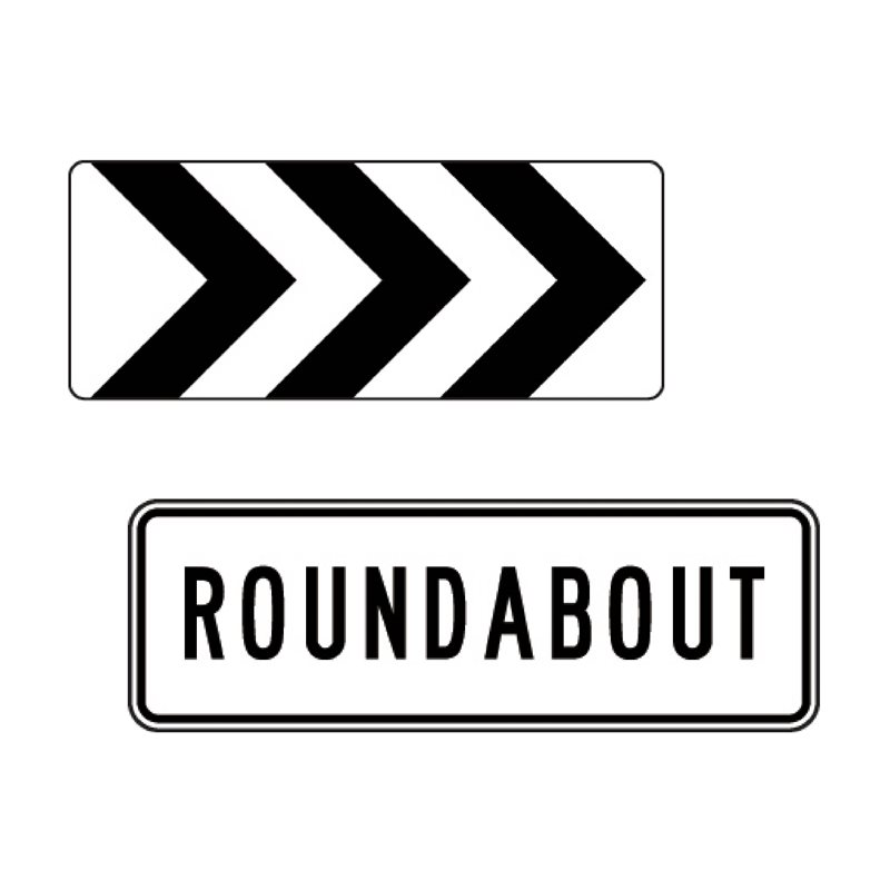 BC Signs - Section 2.0 - Roundabout Signs