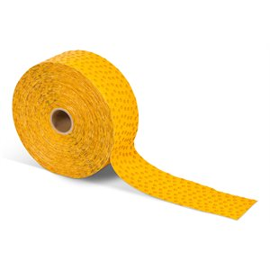Wet Reflective Removable Marking Tape Yellow 4 x 120 yd A711 Stamark